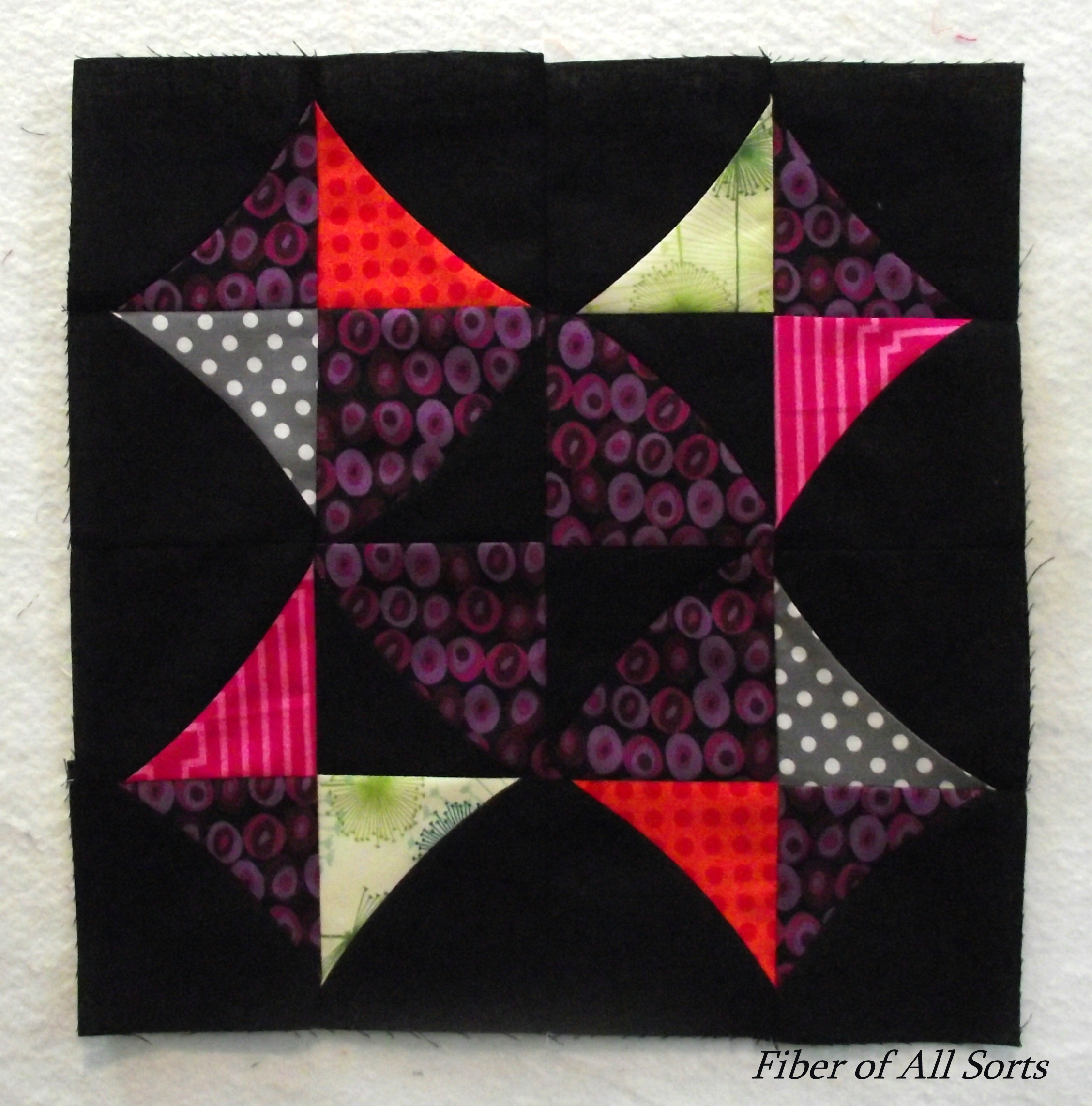 Stripper Block - curved star