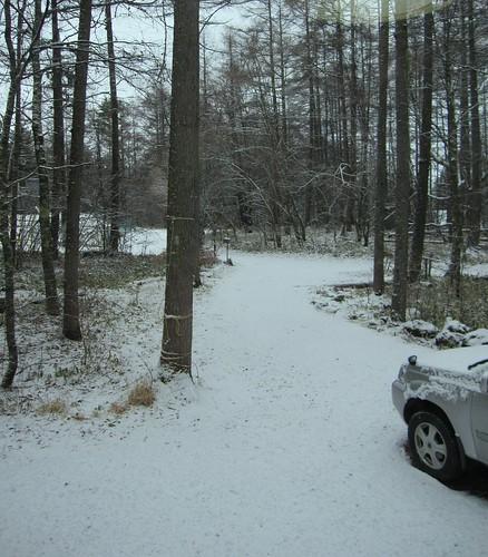 朝は雪・・・2012.11.26 by Poran111