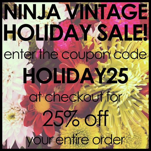 ninja vintage holiday sale