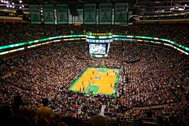 Boston Celtics Td Garden Flickr Photo Sharing