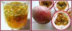 Passiflora edulis: fruits for a refreshing drink