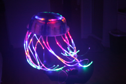 LED Jellyfish Costume Refurbished