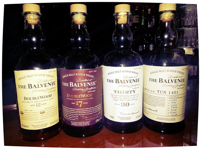 Balvenie tasting by Caroline on Crack