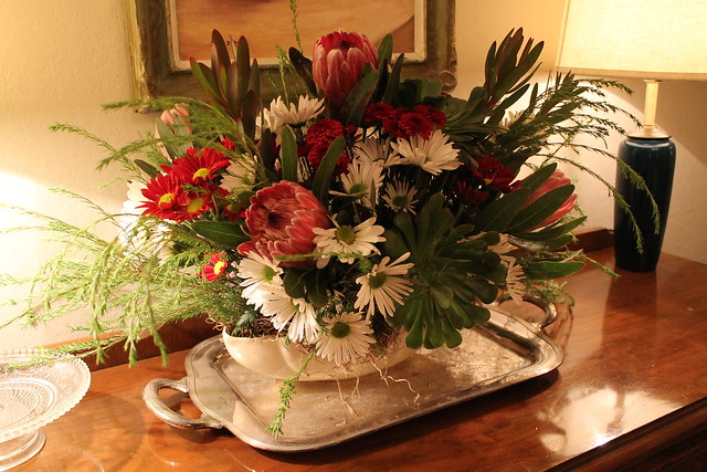 Floral Decor For Thanksgiving