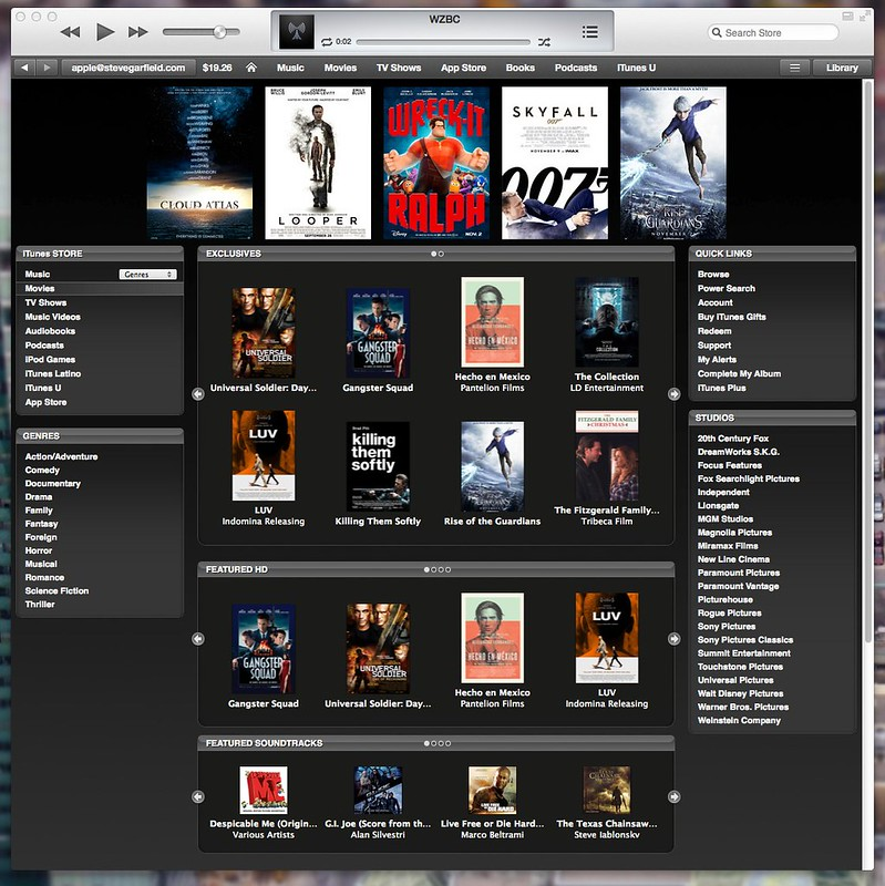 Off On A Tangent: iTunes Movie Trailers - Online and in ...