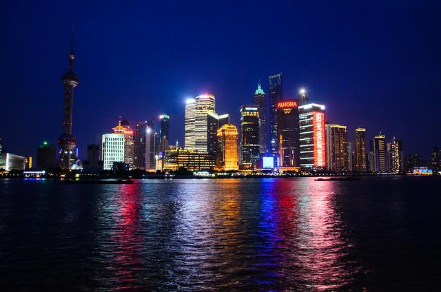 982 - Blue Hour: Shanghai Skyline