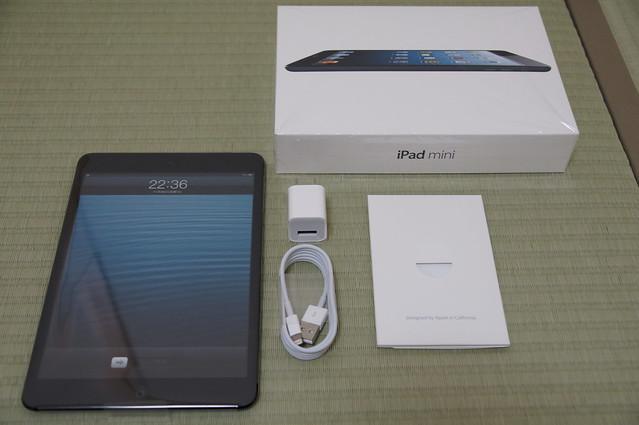 iPadmini箱の中身