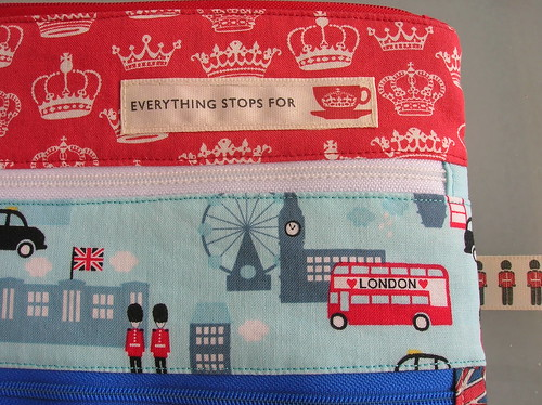 Jumbo Triple Zipper Pouch