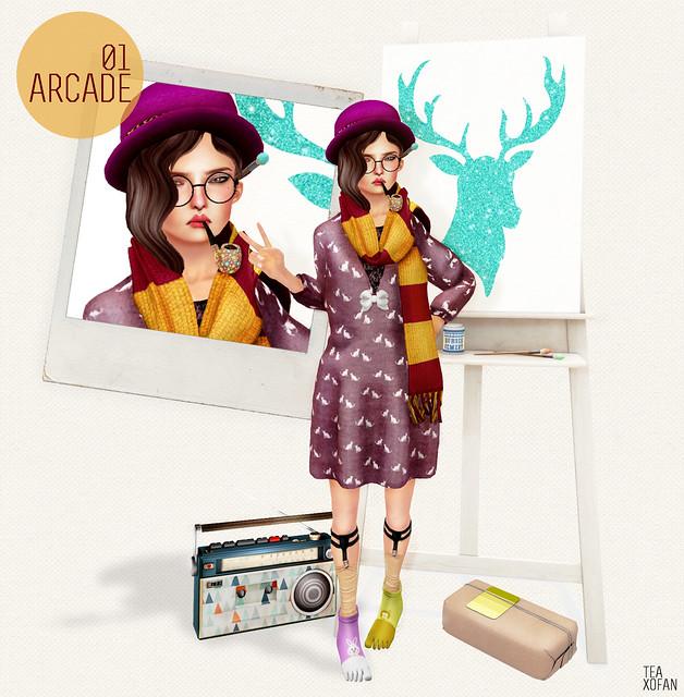 #LOOK134  /ARCADE 01