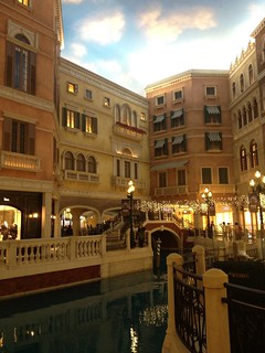 Fake Venice in The Venetian
