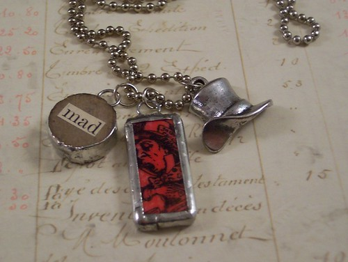 Mad Hatter Charm Necklace