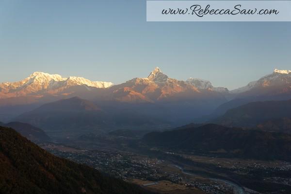 Sarangkot Nepal - sunrise pictures - rebeccasawblog-019