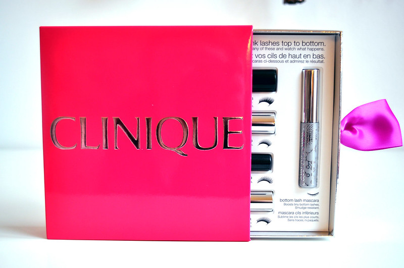 clinique all about lashes christmas gift set 3