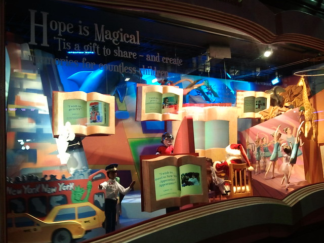 NYC Holiday Show Windows 2012