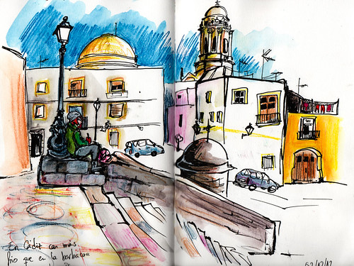 En Cádiz, con más frío que en la barbacoa de Pingu...