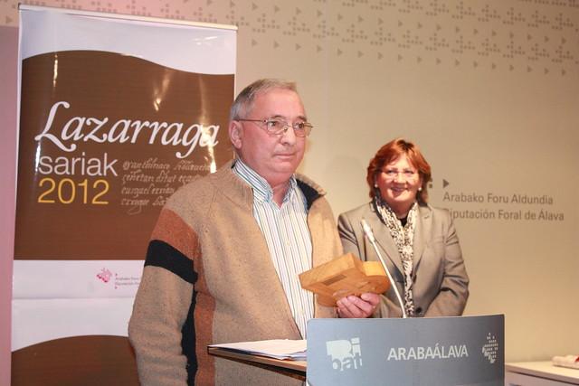 Lazarraga Sariak 2012
