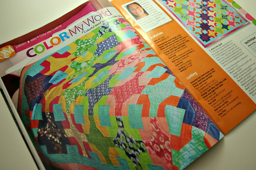 Color My World - Quiltmaker Jan/Feb