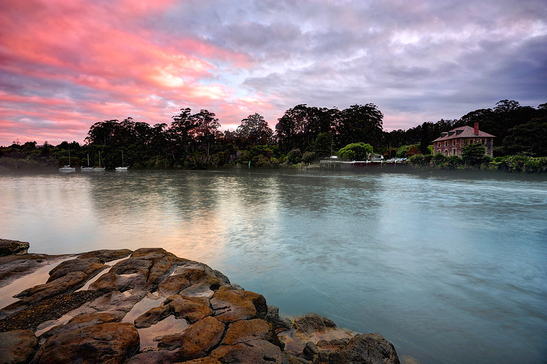 Stone Store, Kerikeri at dusk
