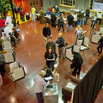 12-057 -- Hansen Student Center served the community as a polling place for the national election.