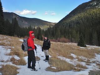 Josh and Erin in the James Peak Wilderness