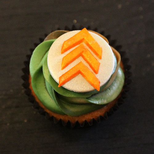 Tristan's army theme camouflage cupcakes 07