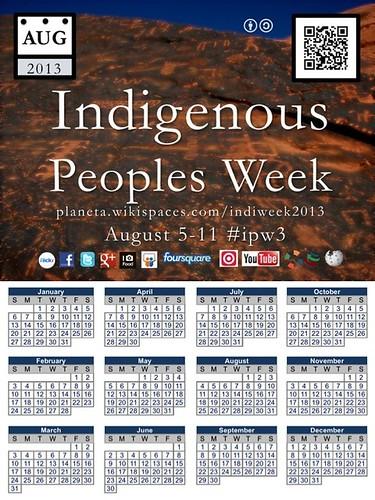 Everyone's invited: Indigenous Peoples Week: August 5-11 #ipw3