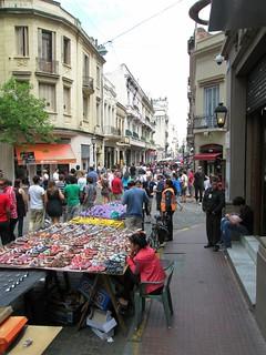 market in San Telmo, Buenos Aires (c2013 by ee Epstein)