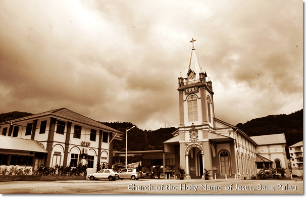Church of the Holy Name of Jesus, Balik Pulau