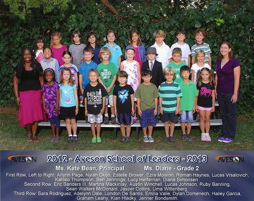 Ezra's Second Grade Class