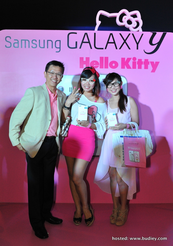 Celebrate Friendship with Samsung GALAXY Y Hello Kitty Limited Edition