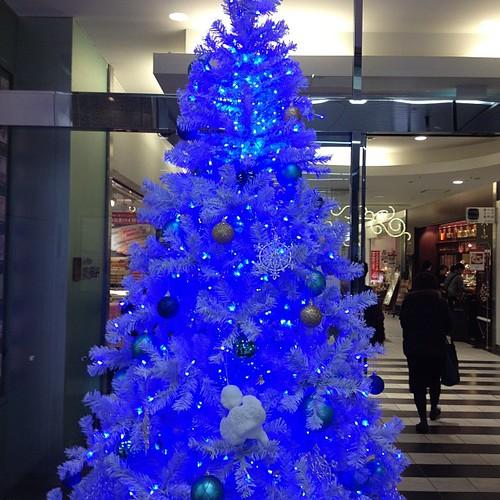 静岡駅にあったツリー!