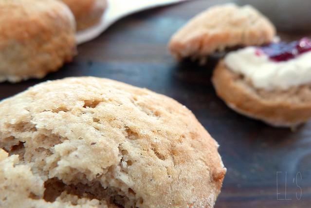 Scones à la farine de châtaigne