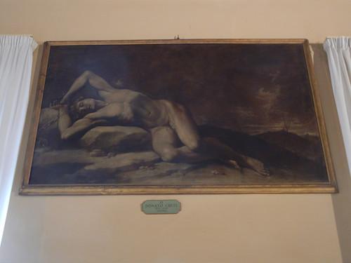 DSCN4714 _ Uomo, Donato Creti, Palazzo D'Accursio (Palazzo Comunale), Bologna, 18 October