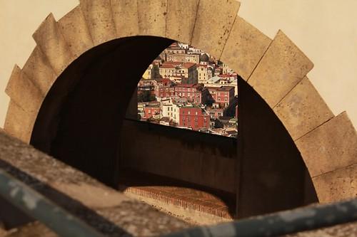 Castel Sant'Elmo: scorcio della città