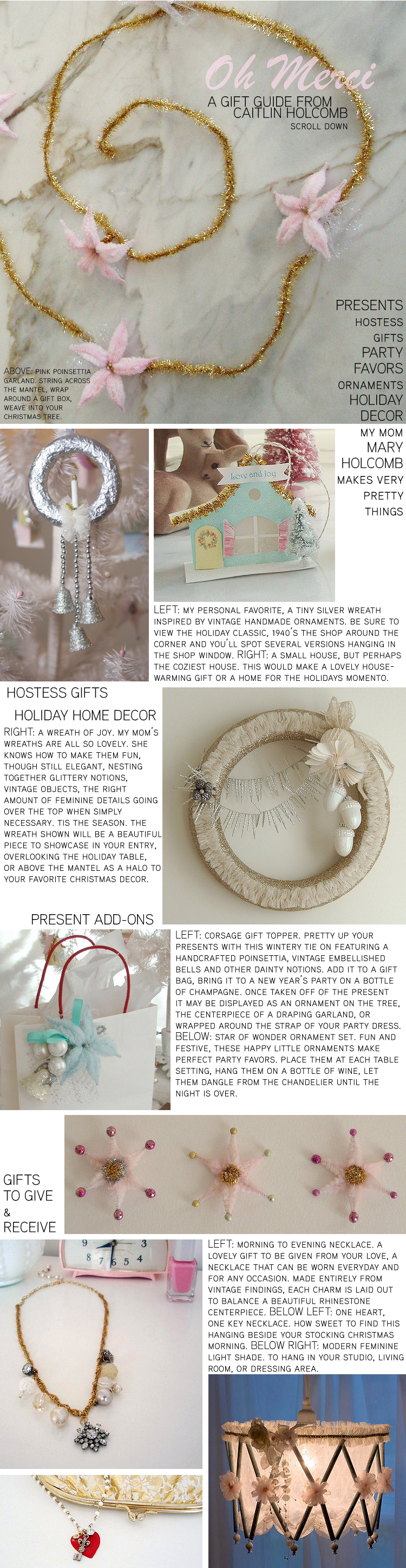 A Gift Guide For Oh Merci