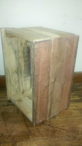 pallet wood crate by bridgetDginley
