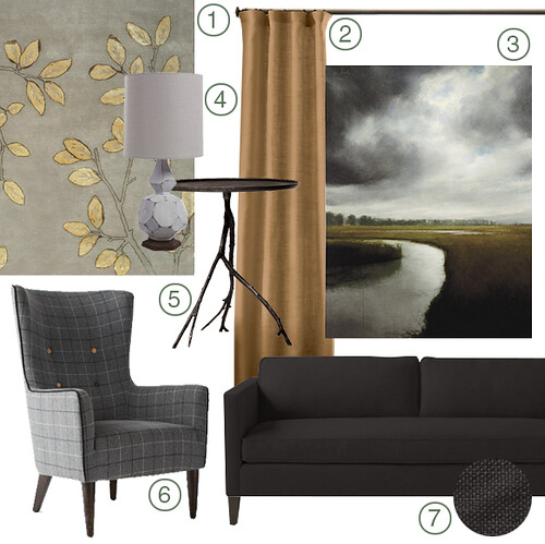 Mood Board: Living Room