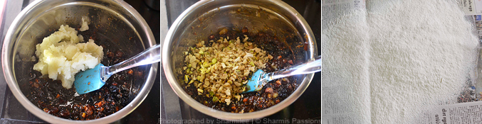 Eggless Christmas Fruit Cake Recipe - Step3