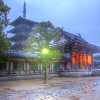 Shitennoji-Temple, Osaka on DEC 15, 2012 (6)