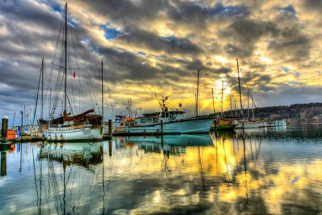 Let the light shine thru, Port of Poulsbo