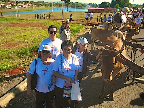 AAVE & Aids Pastoral members participate in the annual Oxen Parade which is part of the novena to the  Holy Trinity during the last week of June each year