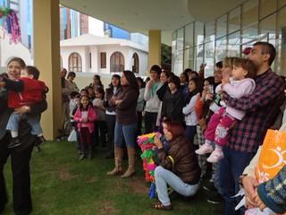 Posada mexicana en Bolivia y taller de piñatas
