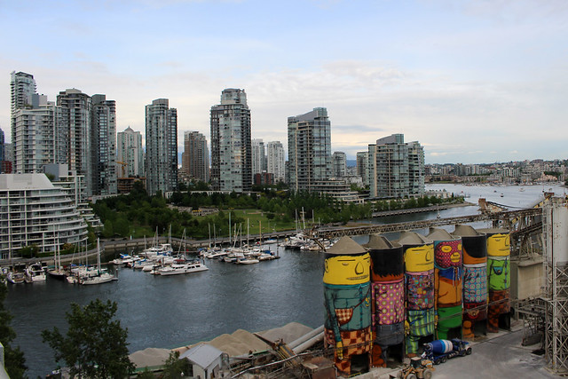 Vancouver Granville Island View