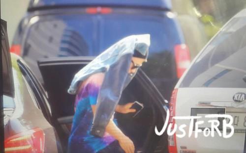 BIGBANG Arrival SBS Inkigayo 2015-05-24 003