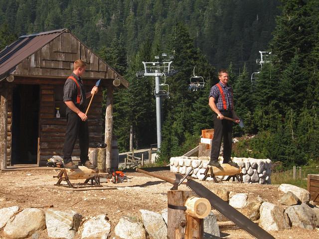 The Lumberjacks, Canon DIGITAL IXUS 750