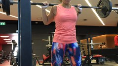 Just for fun I did all the #powerlifting things today, all at 60% and paused, in #compoundsets (thanks @jeffsmithfitness). It was a :poop:load of #volume and super fun!