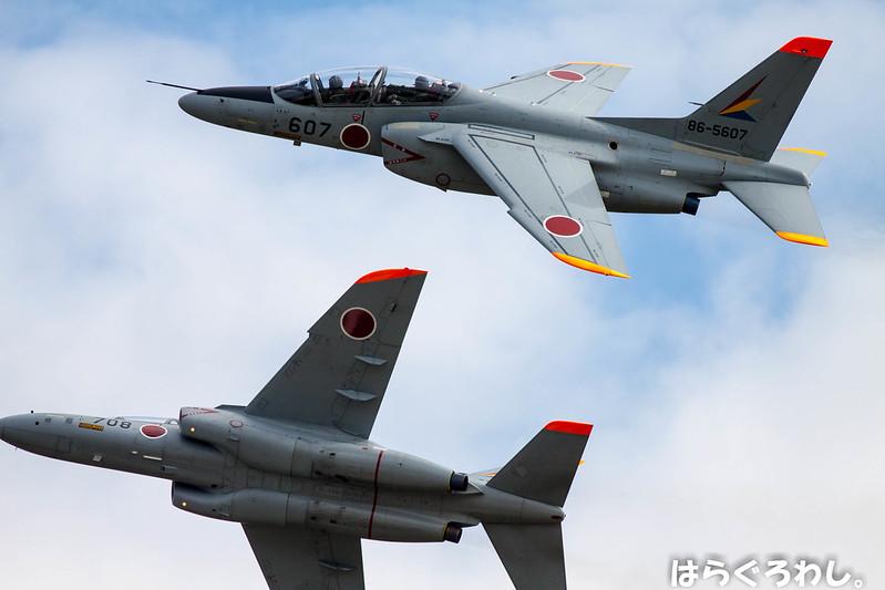 ADCFG T-4 #86-5607 & #36-5708 @ Saitama Iruma A.B.