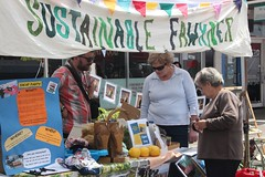 Browsing the Sustainable Fawkner Stall