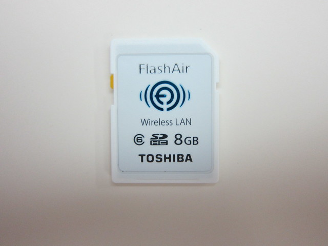 Toshiba FlashAir - Front