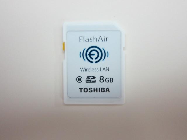 Toshiba FlashAir - Front